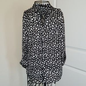 NWT The Limited sheer blouse